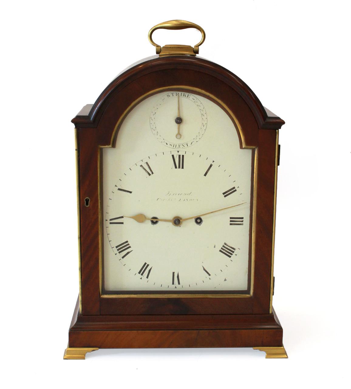 Regency Striking Bracket Clock By Barrauds London
