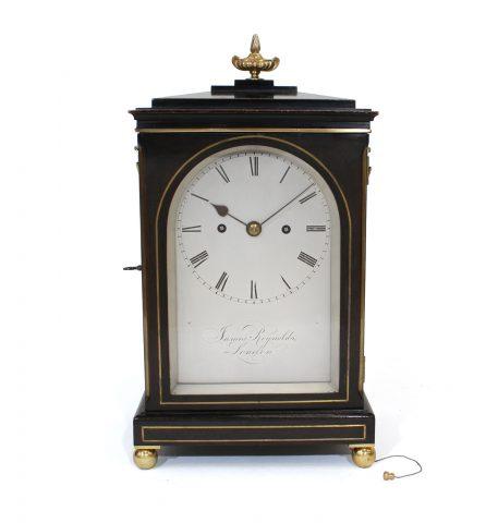 Regency striking bracket clock