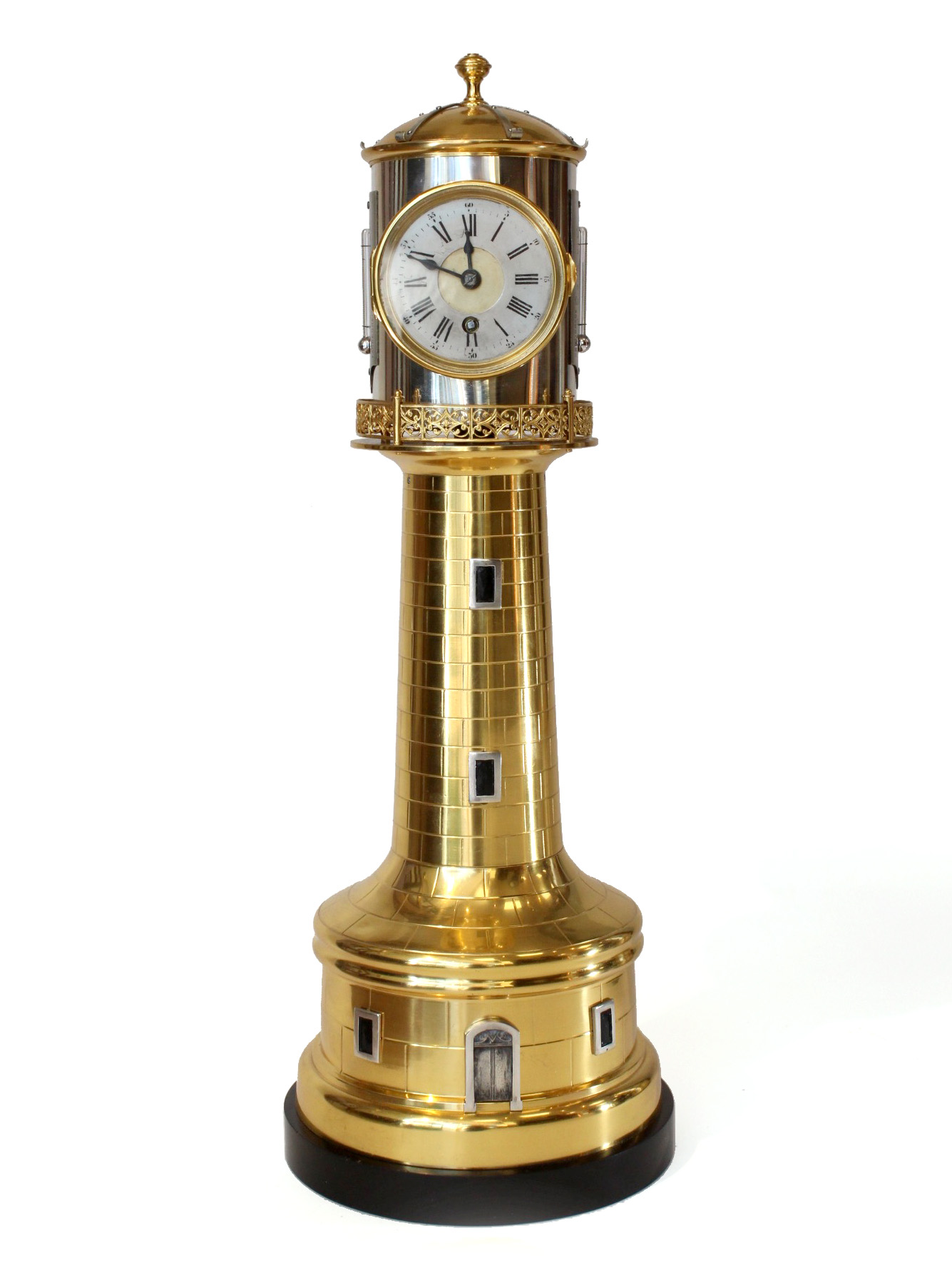 Guilmet Lighthouse Clock With Automaton Carlton Clocks
