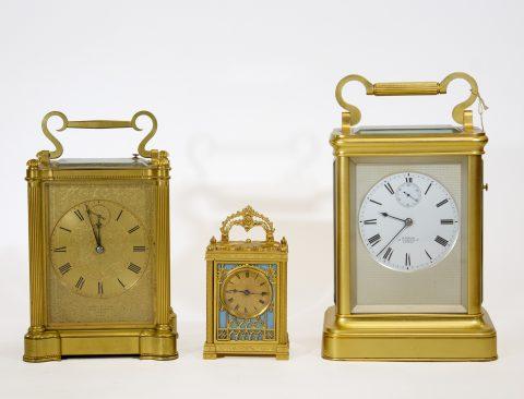 English-fusee-carriage-clocks
