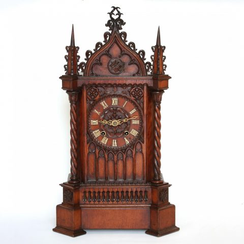 Beha-clock-Gothic-carved